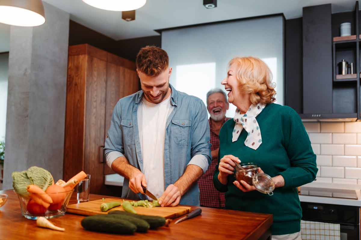 Live with your parents and save for an investment property